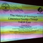 history of scouting in lawrence county