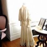 December 14, 1904 wedding dress of Mrs. (J.C.) Diana Pomeroy Hanley