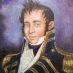 portrait of Captain James Lawrence by artist Jennifer King