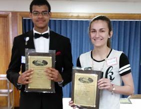 photo of senior and junior high individual winners