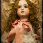 photo of antique doll