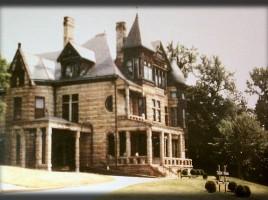 color photo of Raney-Jameson Castle