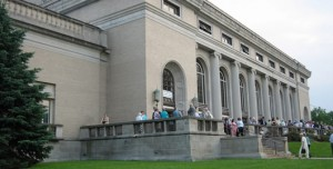 photo of front porch of the Scottish Rite Cathedral
