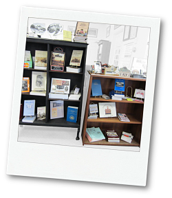 Gift shop at the Lawrence County Historical Society