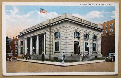 US Post Office circa 1904