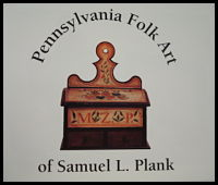cover to Pennsylvania folk art of plank