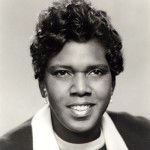 photo of Rep Barbara Jordan circa 1970s