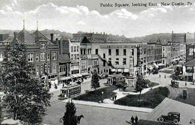 Public Square in New Castle