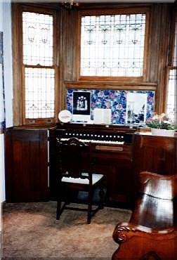 Ira D. Sankey's reed organ