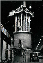 Nuclear reactor parts at New Castle Mesta Plant