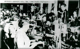 "Workers at the ""Pants Factory"""