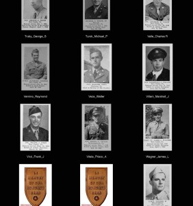WWII  Role of Honor Page 1 (Tru-Zar)