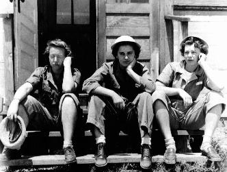 WWII women in the military