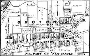 1887 Map Butz Location