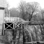 view of Grist Mill in 1976