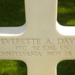 All Graves are Adopted: PFC Davis at Margraten