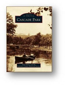 book cover to cascade park