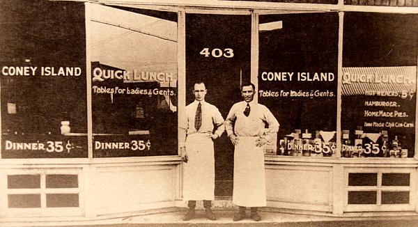 photo of coney island restaurant