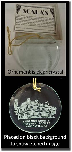 photo of chrystal ornament