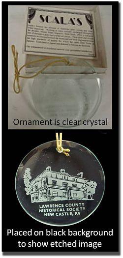 photo of chrystal ornament