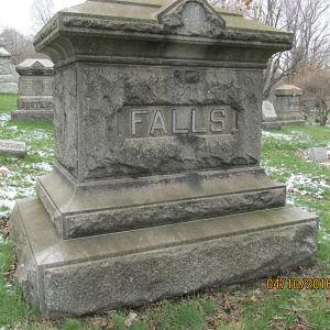 Falls tombstone