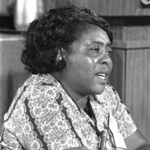 photo of Fannie Lou Hamer 1964