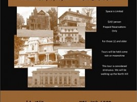 Lawrence County Historical Society Haunted History Walking Tour and Reading