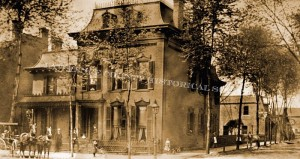 photo of Lewis S. Hoyt family home circa 1886