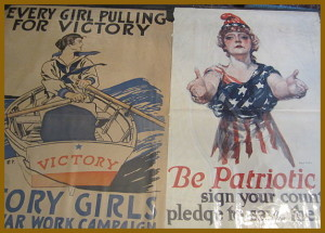 photo of WWI posters
