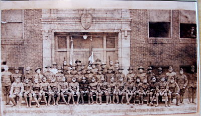photo of italian american athletic association world war one soldiers