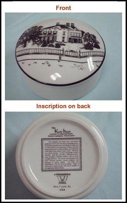 photo of Kurtz House china pin box