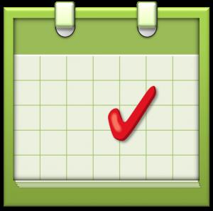 logo for our events calendar