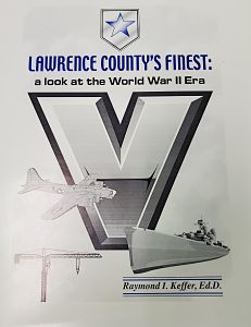 cover of book lawrence countys fines. a look at the world war two era