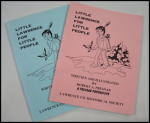 book cover to litte lawrence