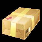 photo of shipping box