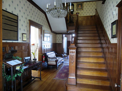 photo of main staircase