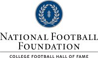 logo for national college football hall of fame