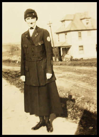 photo of world war one nurse harriet j eckels
