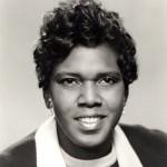 photo of Rep Barbara Jordan circa 1970s