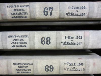 executor records