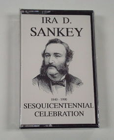 photo of sankey sesquicentennial celebration audio cassette for the years 1840-1990