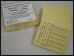 photo of trivia cards