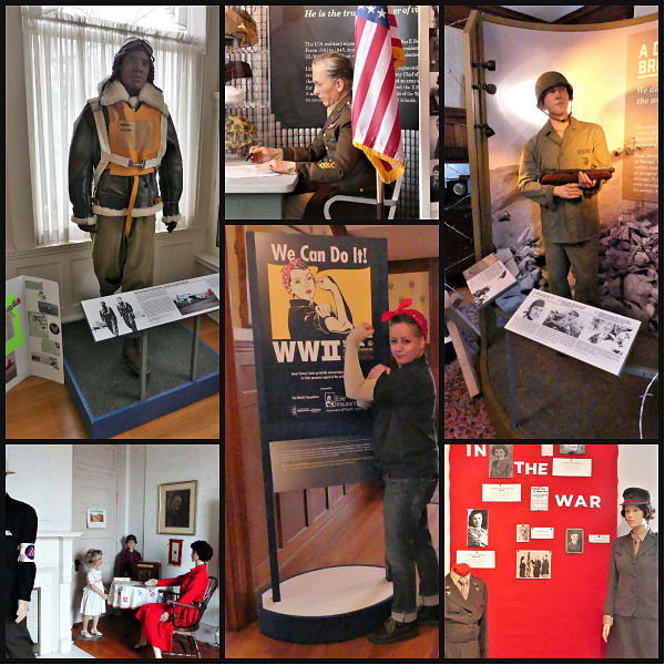photos of wwii exhibits