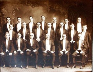 photo of apollo Welsh singing group circa 1913