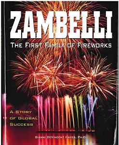 book cover of zambelli, first family of fireworks