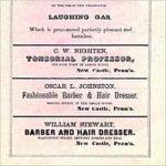 1866 Adverts by Three Black Businessmen