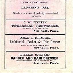 1866 Adverts by Three Black Businessmen