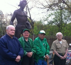 photo of former civilian conservation corps boys