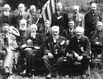 Photo of Civil War Veterans