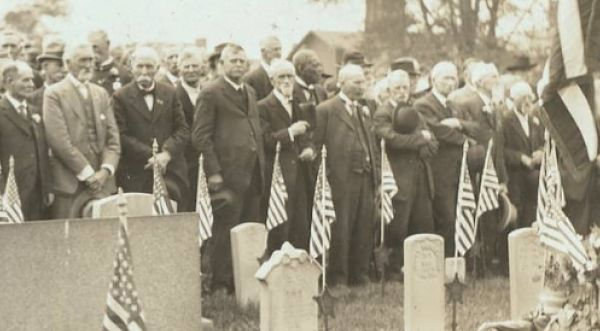 greenwood cemetery memorial day 1917